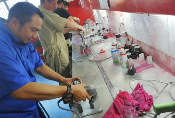 PCN Level 2 Magnetic Particle Testing (Welds Category)